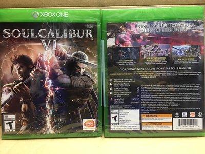 (全新) X1 XBox One X Soul Calibur 6 劍魂 VI (美版) -