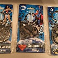 復仇者聯盟 Wonder Woman Keyring+Superman Keyring+Batman Keyring三個