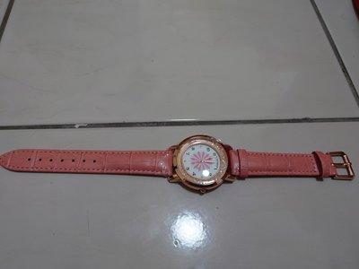 真皮鑲鑽手錶