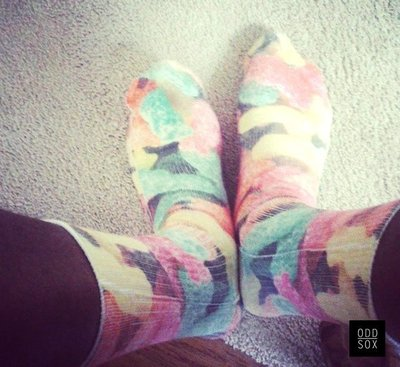 GOODFORIT /  美國ODD SOX Sours Tube Socks美式酸果軟糖中筒襪