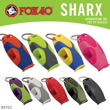 【angel 精品館 】FOX 40 Sharx 系列 哨子 8703 系列 / 單色販售 / 地震防災求救