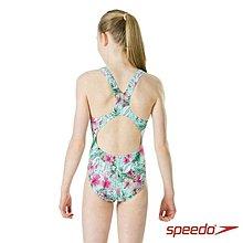 Speedo兒童泳裝 運動泳裝 連身泳裝 小美人魚 尺寸24~34