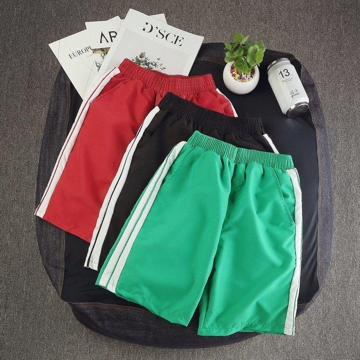 休閒褲 短褲男寬鬆夏季學生褲子運動五分褲三分韓版男士薄款休閒褲沙灘褲