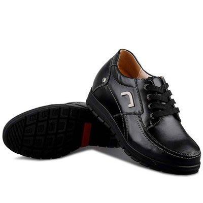 增高 鞋 真皮 皮鞋(零碼賠售出清、恕不退換)-商務沉穩舒適精選男鞋子73pd26[獨家進口][米蘭精品]