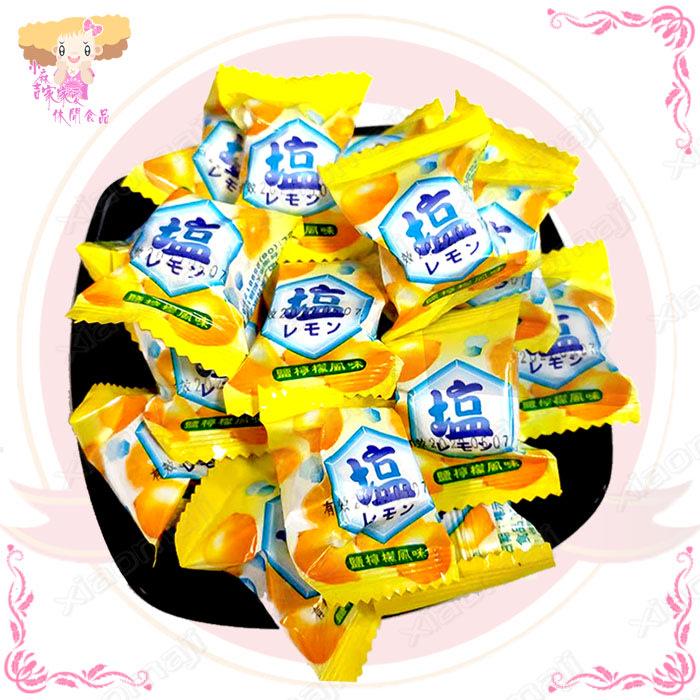 ☆小麻吉家家愛☆友僑鹽檸檬風味軟糖(全素)家庭號經濟包99元 糖果零嘴