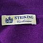 STRIKING  紫色鑽釦長袖針衣         特價 5500