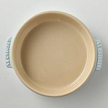 雙11限時特價 Le Creuset 瓷器 西班牙小菜盤 焗烤盤 陶瓷烤盤 14cm 海岸藍*2 全新 現貨 有盒