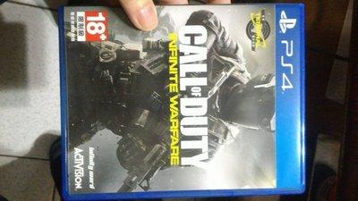 PS4 COD 決勝時刻 無盡戰爭 中文版 二手
