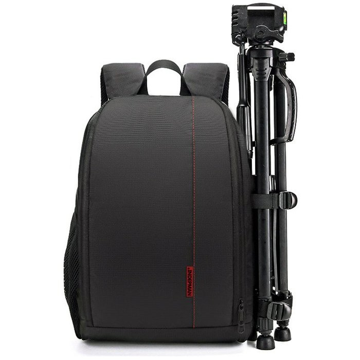 奇奇店-單反相機背包 攝影鏡頭雙肩背包 內膽單反數碼雙肩相機包 防雨罩