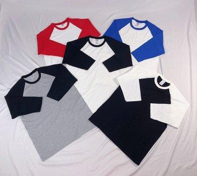 【HOMIEZ】美國 吉爾登 GILDAN 76700【76700】台灣公司貨 5色 S~2XL 亞規棒球 T恤 七分袖