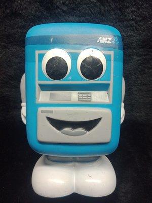 ANZ 澳盛銀行 - 提款機 玩偶 公仔 - 16公分高 - 紀念存錢筒 - 401元起標      A-35箱