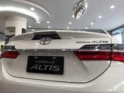[SSY 翔陽 SSY]TOYOTA  2014~2017  ALTIS 11代 11.5代 美規 尾翼 帶燈款  鴨尾