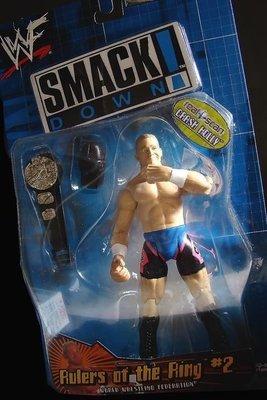 2000 美職摔角 WWF SMACK DOWN CRASH HOLLY 克拉殊 霍莉  富貴玩具店