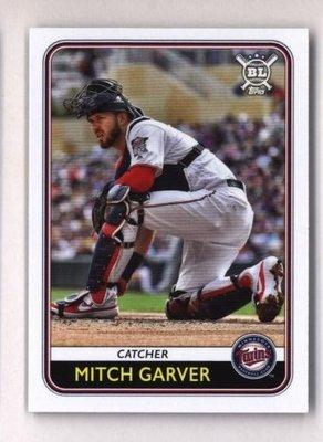 2020 Topps Big League #155 Mitch Garver - Minnesota Twins