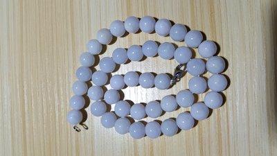 紫罗兰翠玉珠链