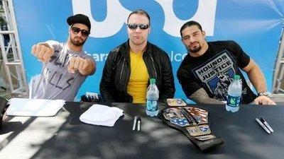 [美國瘋潮]正版 WWE The Shield Hounds of Justice Tee 正義獵犬神盾軍復刻款衣服特價