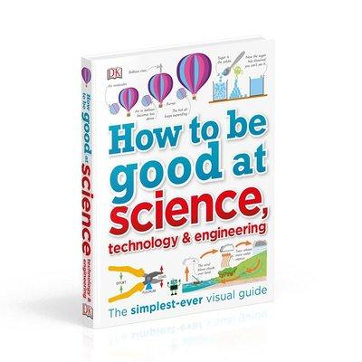 DK兒童stem創新思維培養 DK圖解科學 學業輔導英文原版How to be Good at Science思維訓練6