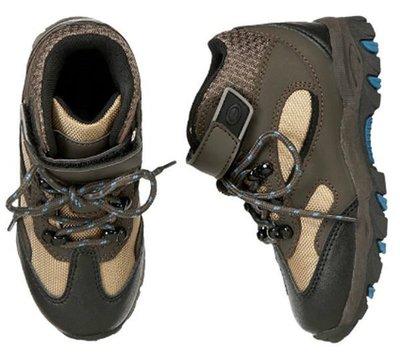 @☆蠍蠍傳說☆Gymboree Hiking Boot 小男生堅固舒適帥氣登山靴(1-2號)純粹出清囉