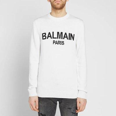 【Mark美鋪】BALMAIN 巴爾曼 LOGO 針織 毛衣 男女可穿