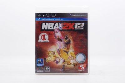 【橙市青蘋果】PS3:美國職業籃球 NBA 2K12 英文版 #12857