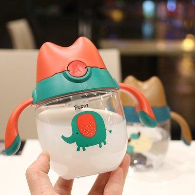 杯子 寶寶水杯吸管杯防嗆兒童杯便攜兩用水壺嬰幼兒學飲杯帶刻度喝水杯