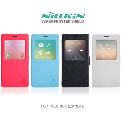 *PHONE寶*NILLKIN MIUI Xiaomi 小米 紅米NOTE 新皮士鮮果系列皮套 休眠喚醒 磁扣 (送草莓支架)