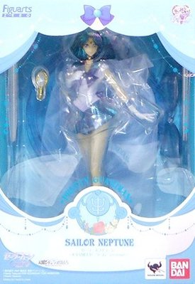 日本正版 萬代 figuarts zero 美少女戰士 Crystal 海王星仙子 水手海王星 模型 公仔 日本代購