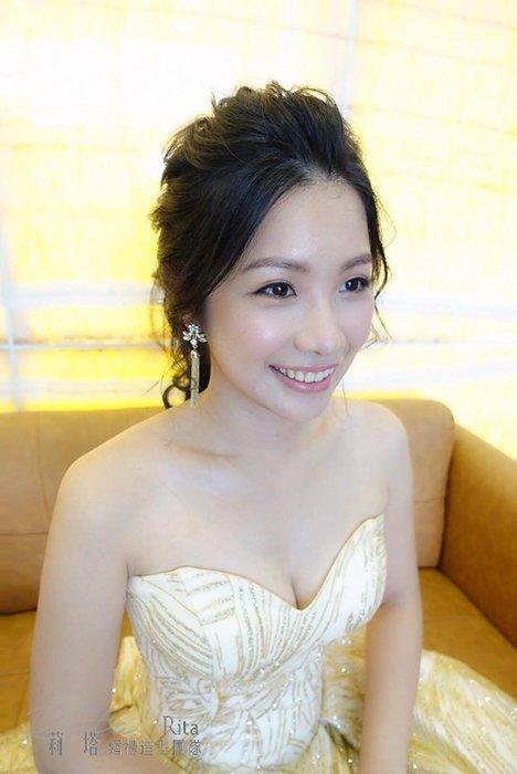 ~璦藏新娘飾品~晶漾水鑽流蘇耳環 編號E234