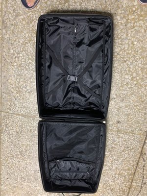 NINO 1881  26吋 布面 條紋 軟殼 兩輪 拉桿行李箱 新品 台中市