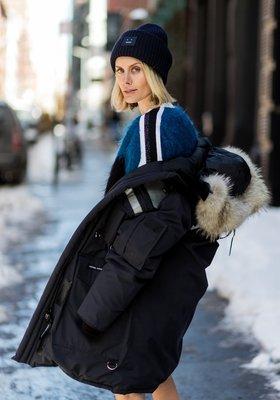【折扣預購】正品Acne Studios Pansy I Face方塊笑臉 針織羊毛帽 深藍色