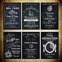 超大黑色畫工業風咖啡廳掛畫西餐廳隔斷酒吧無框畫裝飾畫(6款可選)