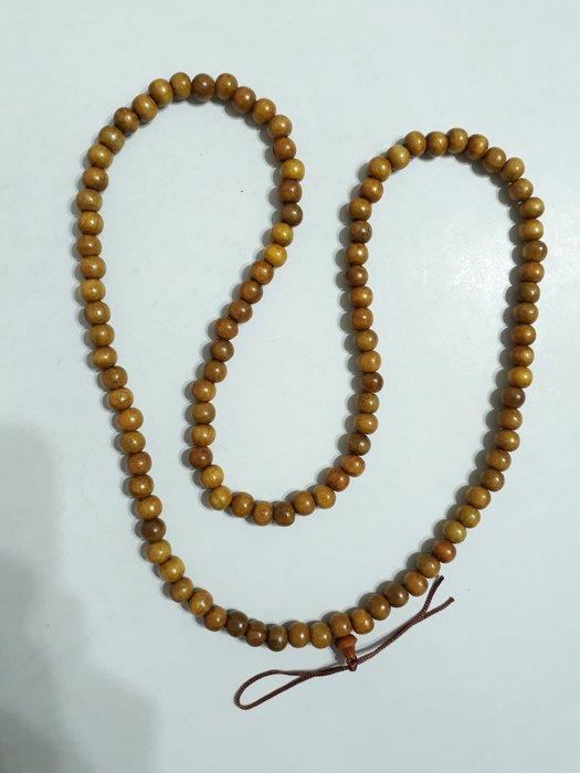 【九龍藝品】肖楠 ~ 108顆佛珠 ~ 手珠約8mm.重量約25公克【21】競標