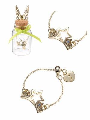 日本迪士尼 Tinker Bell 特式介指鏈,連包裝樽都特別靚!大愛