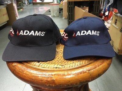 **總統高爾夫** (自取可刷國旅卡) ADAMS 帽子 高爾夫帽 黑 深藍 兩色可選