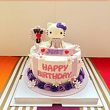 【Connie's Home Sweets】Hello Kitty Birthday Cake 生日蛋糕 3D蛋糕 可來圖訂制蛋糕
