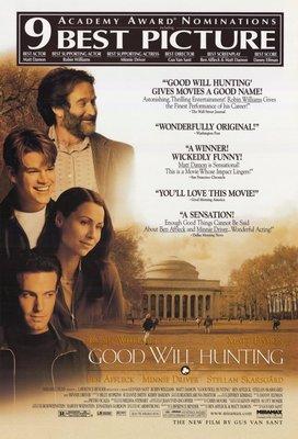 心靈捕手-Good Will Hunting (1997)得獎版電影海報