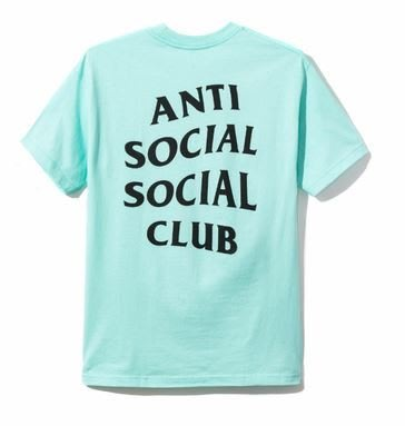 【日貨代購CITY】2017AW Anti Social Social Club 短TEE 綠黑 LOGO 文字 現貨