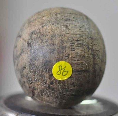 宋家苦茶油nathangoldagarbigball.85黃金奇楠定心珠49.99mm.天下第一珠