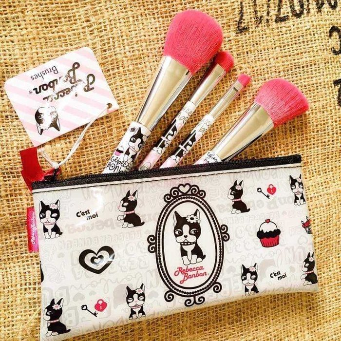 蔡依林代言的RBB刷具+防水包組 化妝包 美妝 化妝用具 眼影刷 眉粉刷 修容刷 蜜粉刷