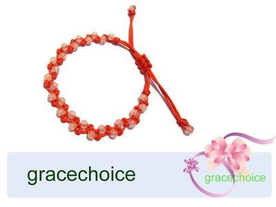 風姿綽約-- 愛情召喚手環(J719)~ 粉晶+粉紅線~ 求得好姻緣~增進人際關係~招貴人