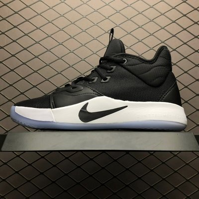 NIKE PG 3 EP 黑白 黑勾 百搭 中筒 籃球鞋 AO2608-001 男鞋