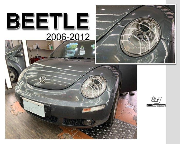 小傑車燈--全新 VW 福斯 金龜車 BEETLE 06年 小改款 原廠型 晶鑽 魚眼 大燈 頭燈 一顆2400元