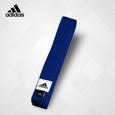 愛迪達藍色道帶 跆拳道 空手道 合氣道 武術 adidas競技運動台灣總代理