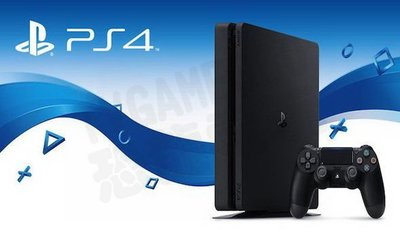 SONY PS4 SLIM 新版主機 CUH-2117 1T 1000G 極致黑 黑色 台灣公司貨【台中恐龍電玩】