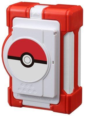 二手神奇寶貝tretta 18枚彈跳式卡匣收納盒 紅 收集盒 收納箱 隨身攜帶