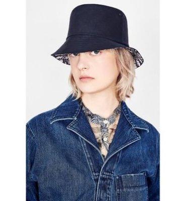 Christian Dior Beige Cotton/Silk Bucket hat 米色棉絲質漁夫帽