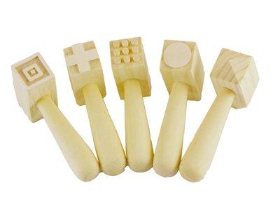 【晴晴百寶盒】英國進口木製形狀錘 黏土或麵團好幫手 可愛益智玩具 益智遊戲 送禮禮物禮品 創意寶寶早教益智遊戲 W004