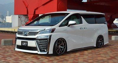 新品~AFFECTION~LK1代標Toyota豐田ALPHARD休旅4顆21吋鋁圈含輪胎~韓國製胎皮不能拆