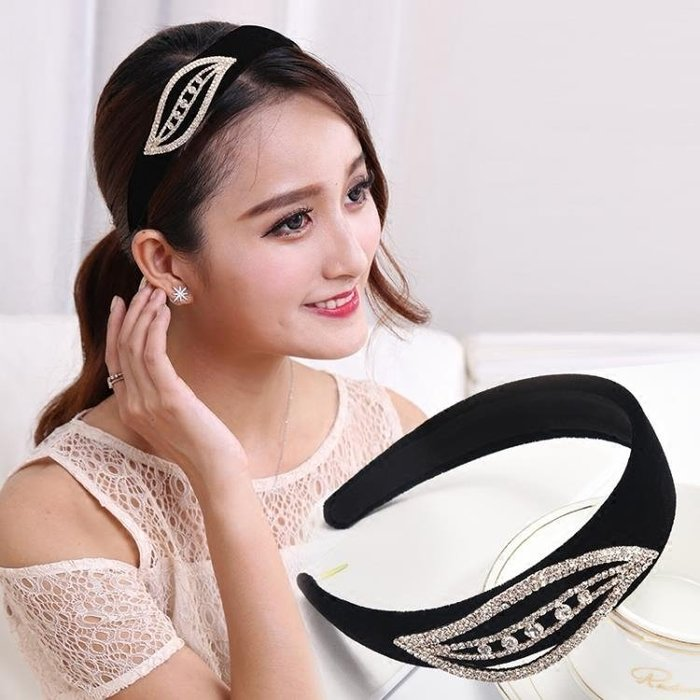 發箍韓國寬邊洗臉發帶女簡約成人百搭發窟防滑壓發飾品頭箍發卡子