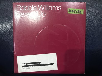 *真音樂*ROBBIE WILLAMS / SEXED UP 二手 K24182